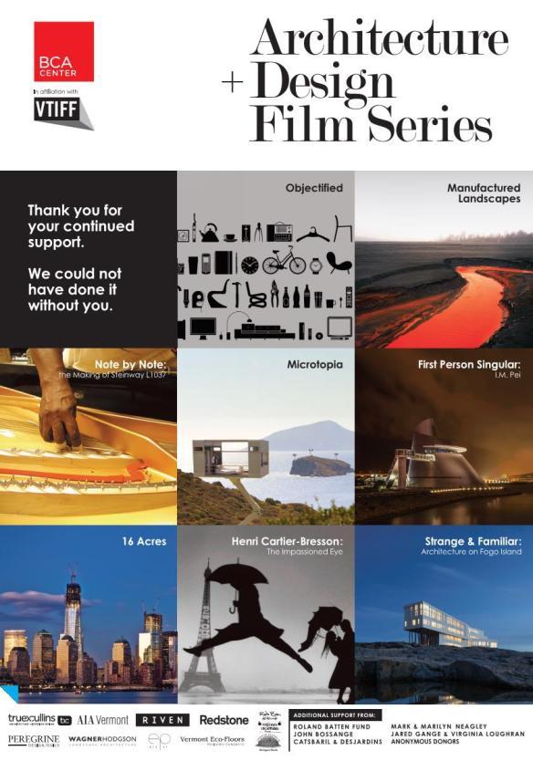 A+D Film Series THANK YOU