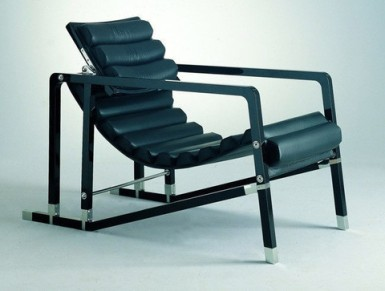 Gray Transat Chair