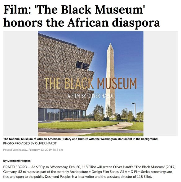 Reformer_The Black Museum Article_Desmond Peeples